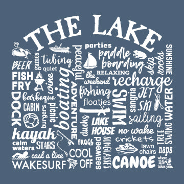 "WLTY ""The Lake"" Ladies Short Sleeve T-Shirt"