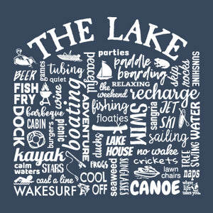 "WLTY ""The Lake"" Adult Hooded Sweatshirt"