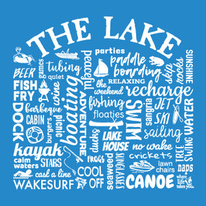 "WLTY ""The Lake"" Adult Short Sleeve T-Shirt"