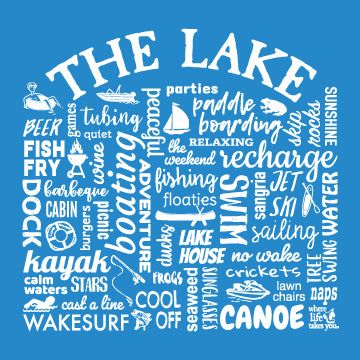 "WLTY ""The Lake"" Adult Long Sleeve T-Shirt"