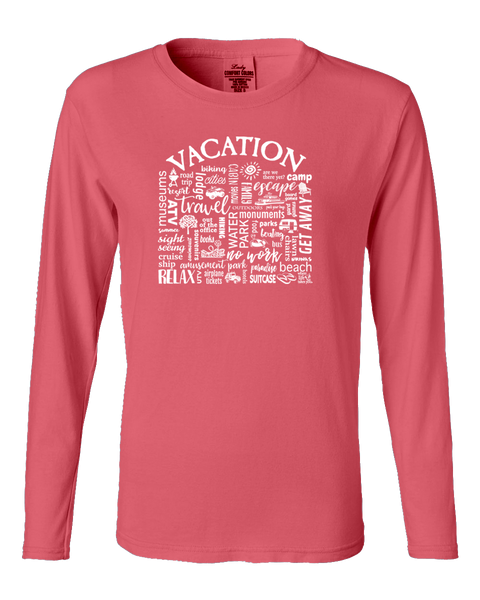 "WLTY ""Vacation"" Ladies Long Sleeve"