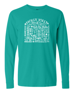 "WLTY ""Holly Jolly"" Adult Long Sleeve T-Shirt"