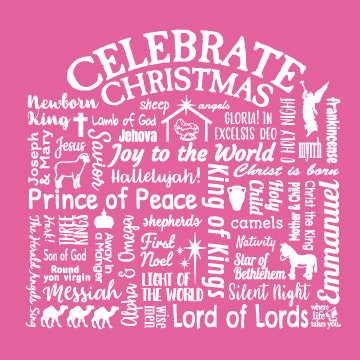 "WLTY ""Celebrate Christmas"" Ladies Short Sleeve T-Shirt"