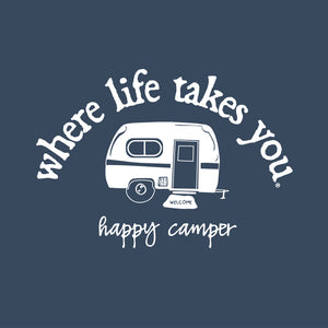 "WLTY RV ""Happy Camper"" Adult Hooded Sweatshirt"