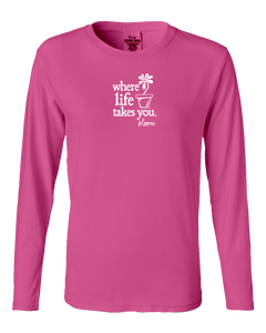 "WLTY Flower Pot ""Bloom"" Ladies Long Sleeve"