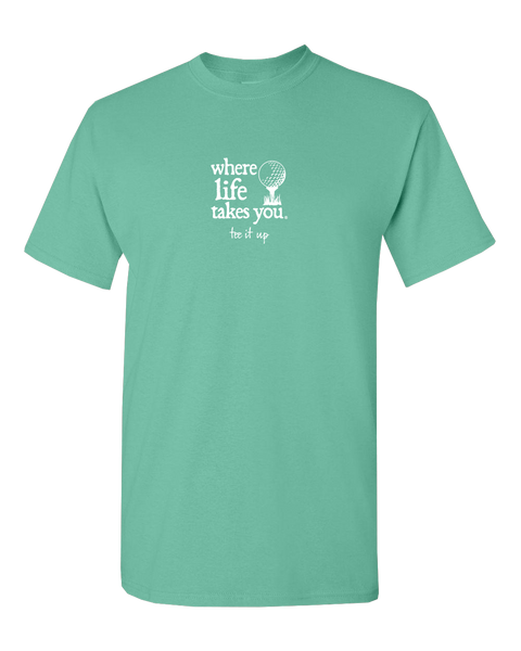 "WLTY Golf ""Tee It Up"" Adult Short Sleeve T-Shirt"