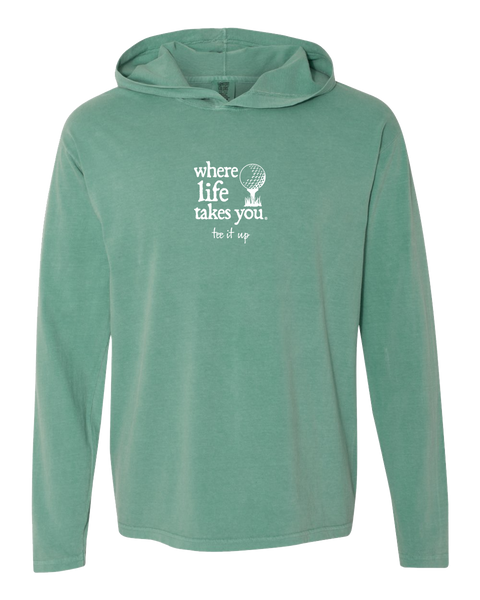 "WLTY Golf ""Tee It Up"" Adult Hooded Long Sleeve"