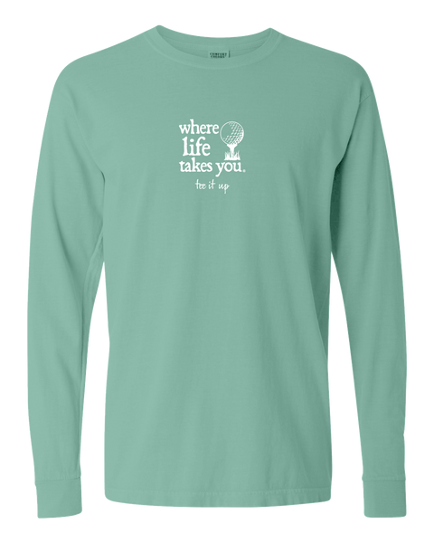 "WLTY Golf ""Tee It Up"" Adult Long Sleeve T-Shirt"