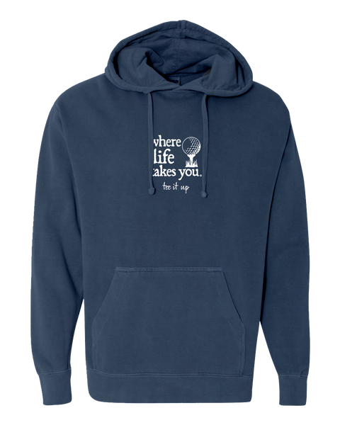 "WLTY Golf ""Tee It Up"" Adult Hooded Sweatshirt"
