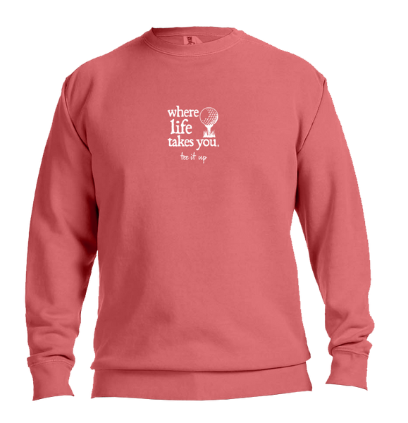 "WLTY Golf ""Tee It Up"" Adult Crewneck Sweatshirt"