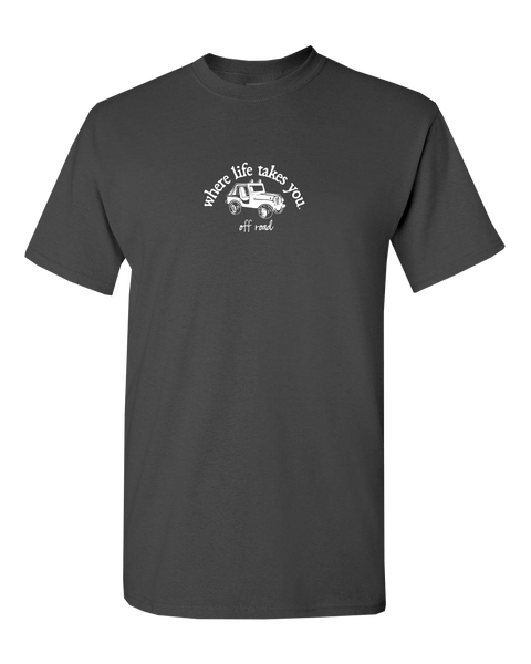 "WLTY Jeep ""Off Road"" Adult Short Sleeve T-Shirt"
