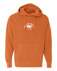 "WTLY Lobster ""Add Butter"" Adult Hooded Sweatshirt"