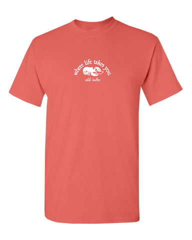 "WTLY Lobster ""Add Butter"" Adult Short Sleeve T-Shirt"