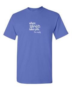 "WLTY Flip Flops ""Live Simply"" Adult Short Sleeve T-Shirt"