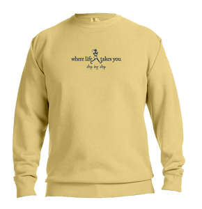 "WLTY Walker ""Step by Step"" Adult Crewneck Sweatshirt"