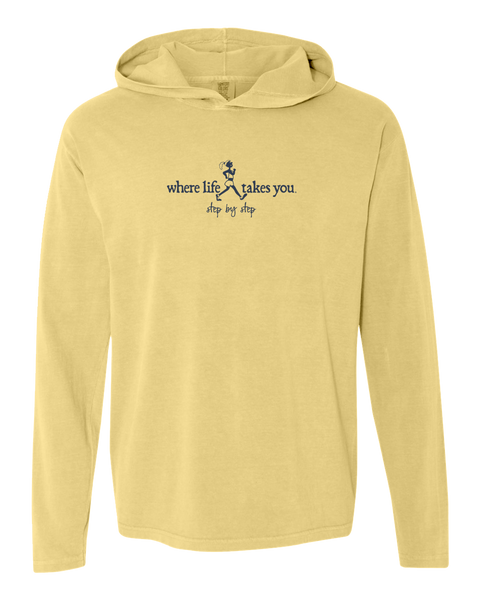 "WLTY Walker ""Step by Step"" Adult Hooded Long Sleeve"
