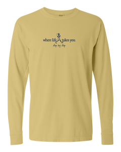 "WLTY Walker ""Step by Step"" Adult Long Sleeve T-Shirt"