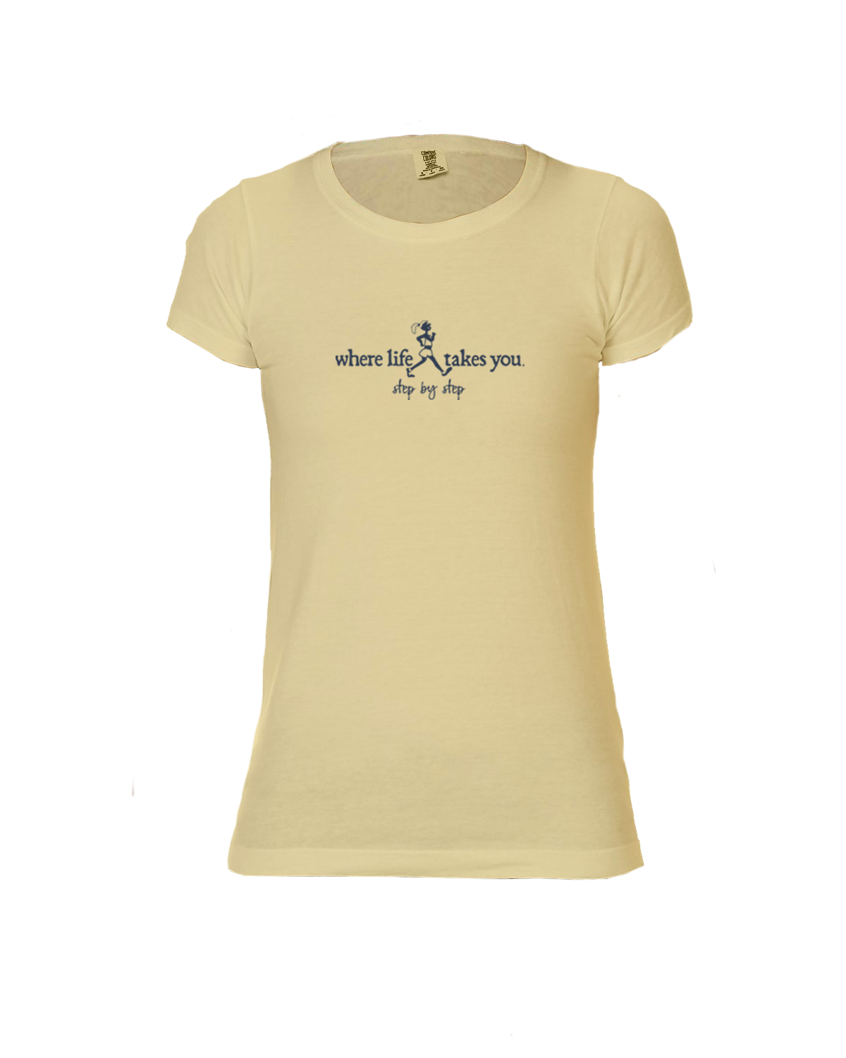 "WLTY Walker ""Step by Step"" Ladies Short Sleeve T-Shirt"