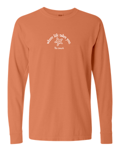 "WLTY Starfish ""The Beach"" Adult Long Sleeve T-Shirt"