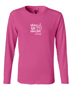 "WLTY Cat ""Catitude"" Ladies Long Sleeve"
