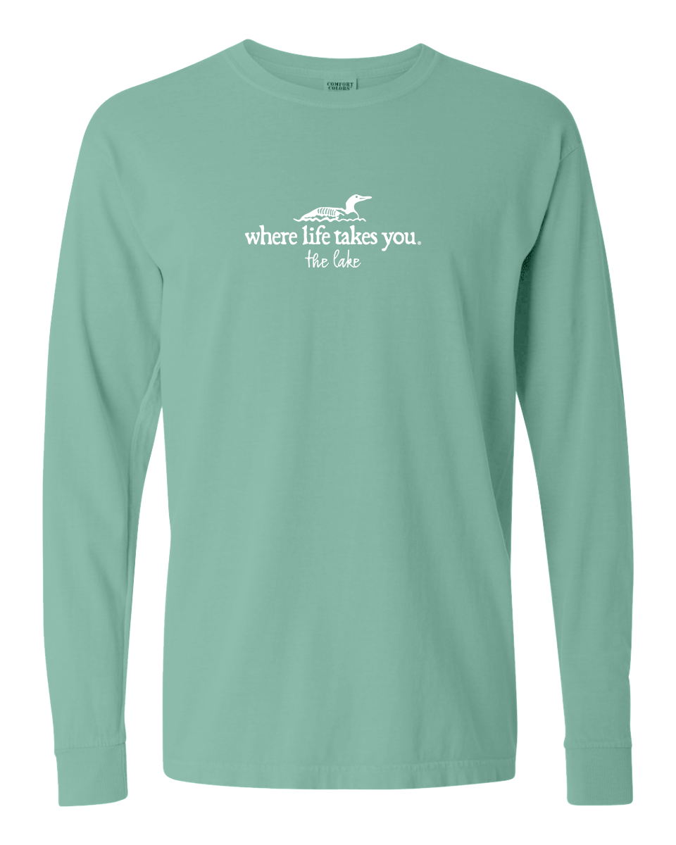 "WLTY Loon ""The Lake"" Adult Long Sleeve T-Shirt"
