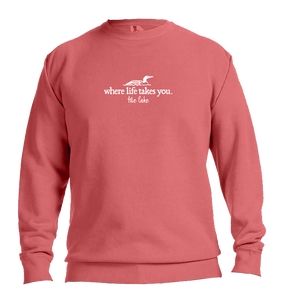 "WLTY Loon ""The Lake"" Adult Crewneck Sweatshirt"