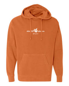 "WLTY Maple Leaf ""Fall Into It"" Adult Hooded Sweatshirt"
