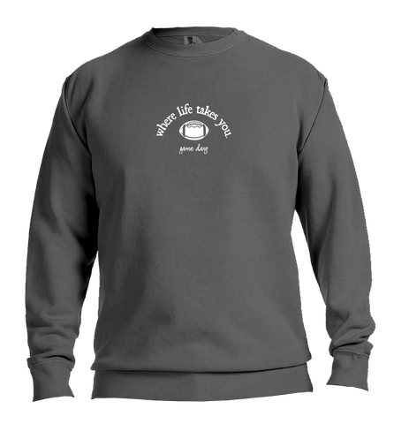 "WLTY Football ""Game Day"" Adult Crewneck Sweatshirt"