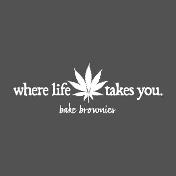 "WTLY Cannabis ""Bake Brownies"" Adult Hooded Sweatshirt"