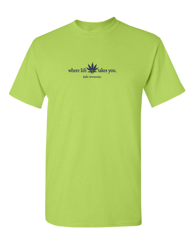 "WTLY Cannabis ""Bake Brownies"" Adult Short Sleeve T-Shirt"