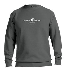 "WTLY Cannabis ""Bake Brownies"" Adult Crewneck Sweatshirt"