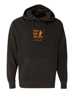 "WLTY Witch ""Break the Spell"" Adult Hooded Sweatshirt"
