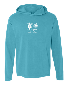 "WLTY Snowflake ""One in a Million"" Adult Hooded Long Sleeve"