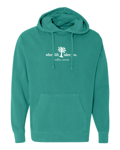 "WLTY Palm Tree ""Endless Summer"" Adult Hooded Sweatshirt"