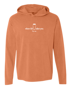 "WLTY Beer ""The Bar"" Adult Hooded Long Sleeve"