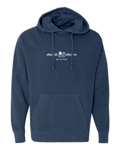 "WLTY Apple and Books ""Born to Teach"" Adult Hooded Sweatshirt"
