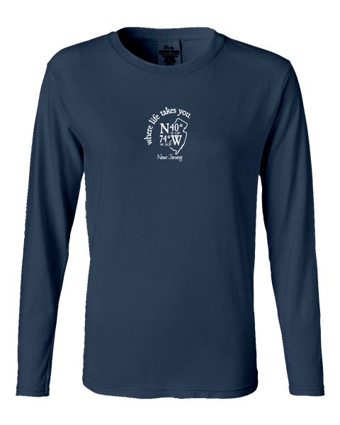 "WLTY Coordinates ""New Jersey"" Ladies Long Sleeve"
