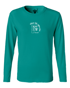 "WLTY Coordinates ""Vermont"" Ladies Long Sleeve"