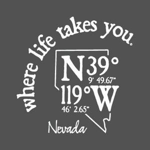 "WLTY Coordinates ""Nevada"" Adult Hooded Sweatshirt"