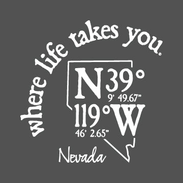 "WLTY Coordinates ""Nevada"" Adult Hooded Long Sleeve"