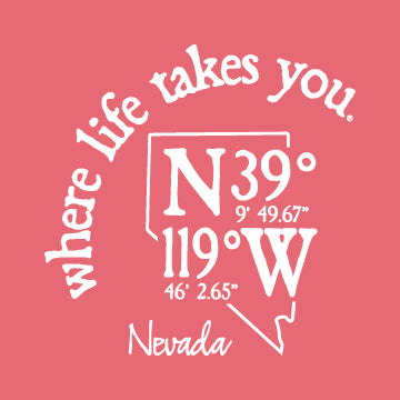 "WLTY Coordinates ""Nevada"" Adult Short Sleeve T-Shirt"