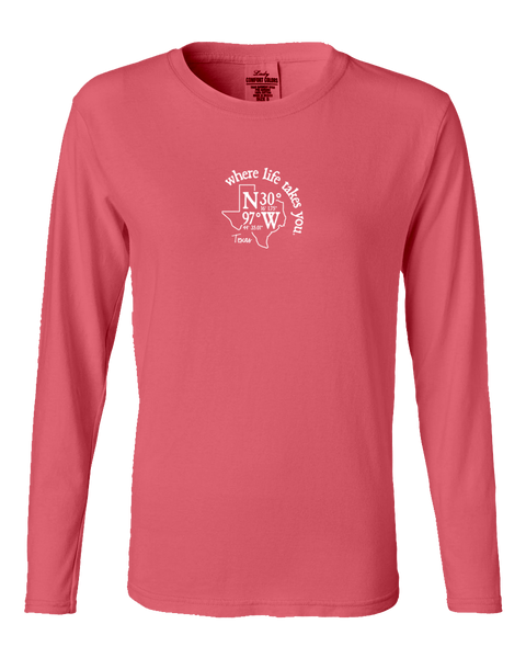 "WLTY Coordinates ""Texas"" Ladies Long Sleeve"