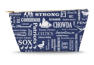 Boston Location Large Accessory Bag (Navy)