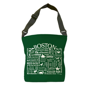 Boston Location Tote Bag (Spruce)