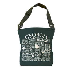 Georgia Location (Pepper) Tote Bag