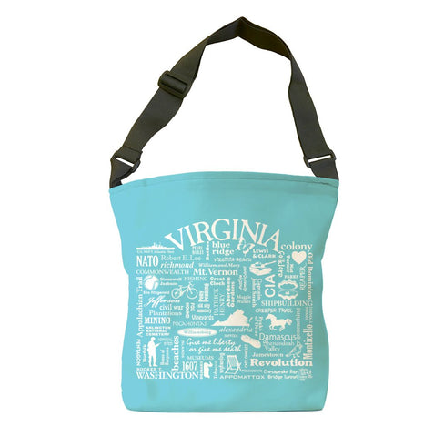 Virginia Location (Lagoon) Tote Bag