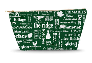 New Hampshire Location (Spruce) Large Accessory Bag