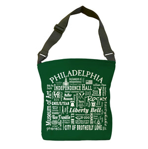 Philadelphia Location (Spruce) Tote Bag