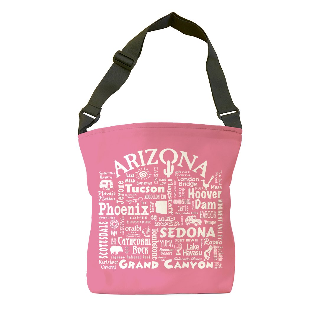 Arizona Location Tote Bag (Crunchberry)