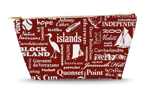 Rhode Island Location (Brick) Large Accessory Bag
